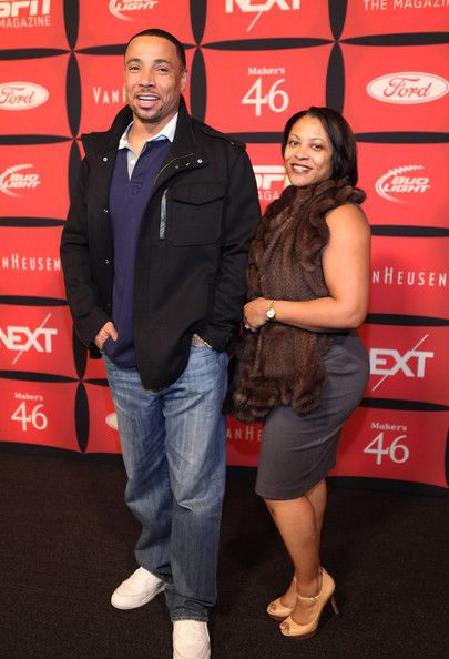 ab4e7b49a Rodney Harrison and his wife Erika