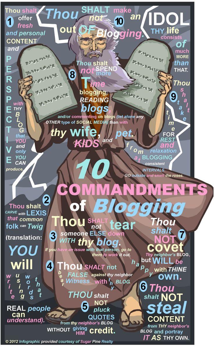 Els '10 Manaments 'de les xarxes socials