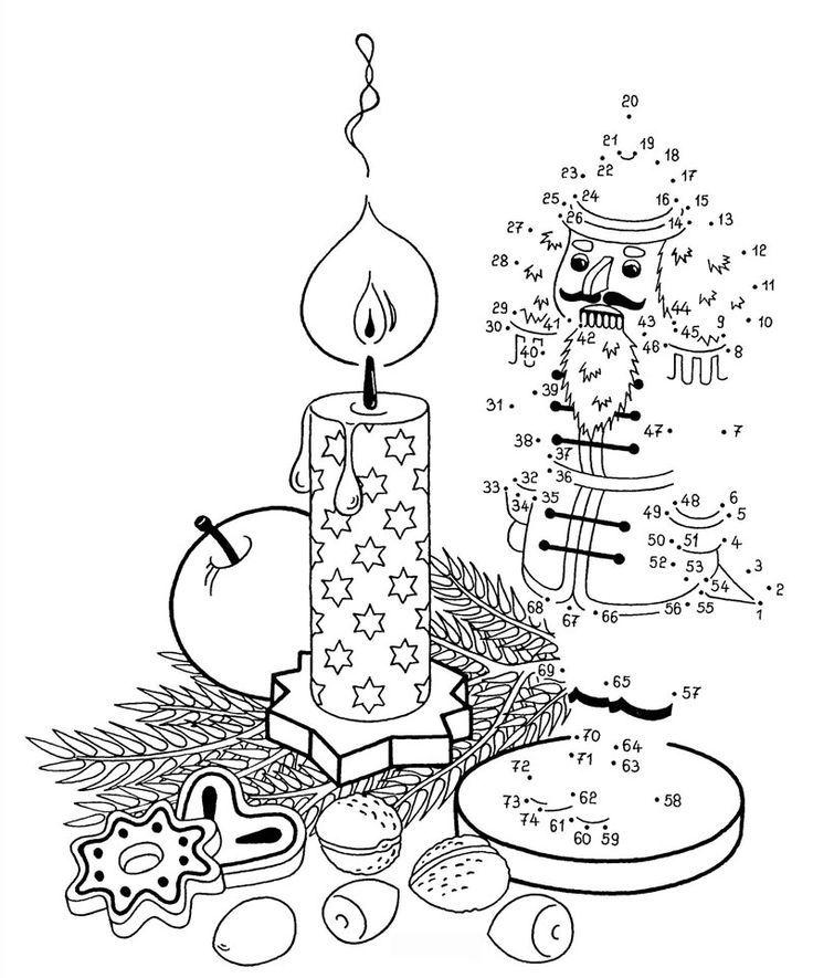 Ausmalbild Malen Nach Zahlen Malen Nach Zahlen Nussknacker Kostenlos Ausdrucken Ausdrucken Malen Nach Zahlen Weihnachtsmalvorlagen Vorschule Weihnachten