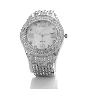 """#ContestInspriation: A #watch is a classic must have! This Real Collectibles by Adrienne® """"Haute Couture"""" Shopper's Pavé Crystal Bracelet W at HSN.com adds a little bling to our #UltimateFallWardrobe ensemble! #HSN #FallFashion: Fall Fashion"""