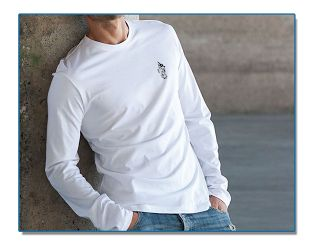 SeaHorse-Collection, men's long-sleeve round-neck T-shirt, 39,99€