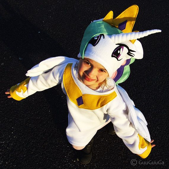 child's Princess Celestia costume 6-9 y old My Little by GuuGuuGa