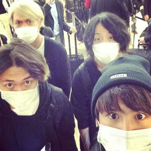 ONE OK ROCK arrived in Chile