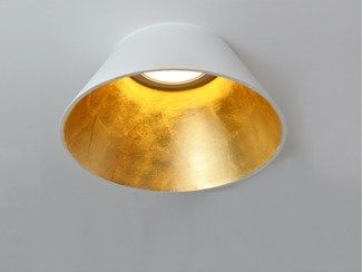 Luminária semi-encastrada LED com luz direta UNCONVENTIONAL CONE - ITALIA LUCE DESIGN