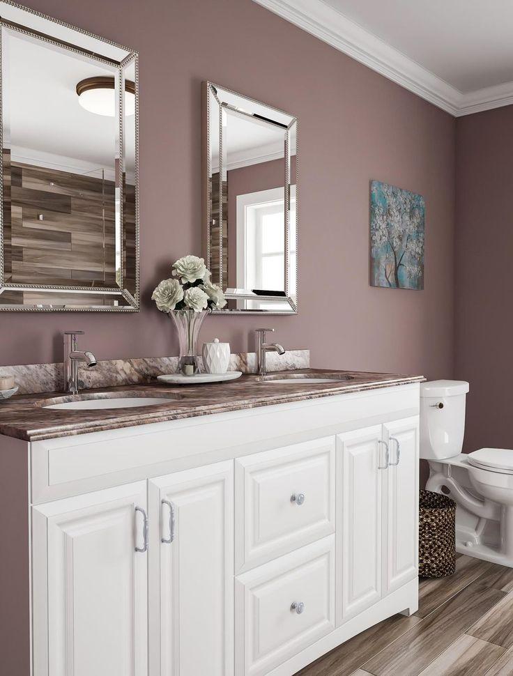 44 Perfect Pink Brown Color Combination For Your Bathroom Design Badezimmer Dekor Badezimmer Tapete Badezimmer Braun