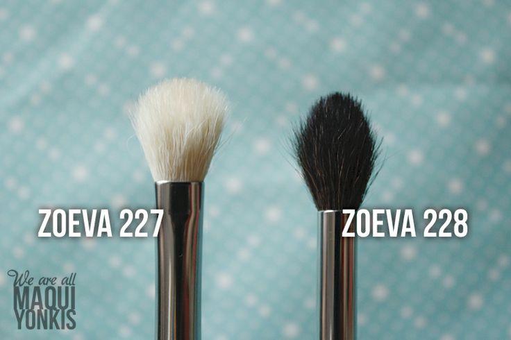 (más) Brochas Zoeva: 227 y 228