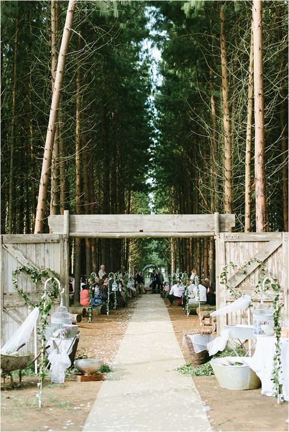 South African Woodlands Wedding by Louise Vorster