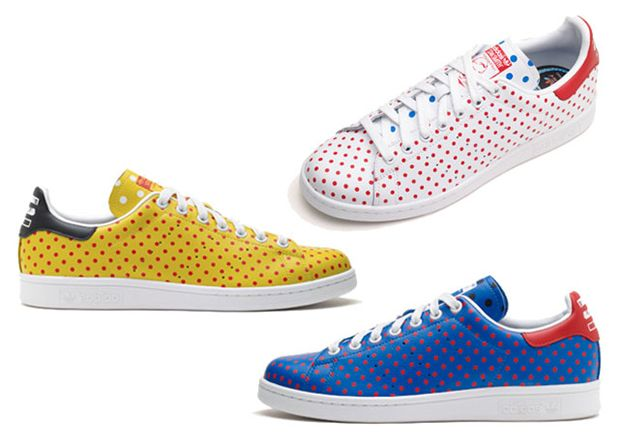 Pharrell Williams e Adidas Originals lançam Polka Dot Pack