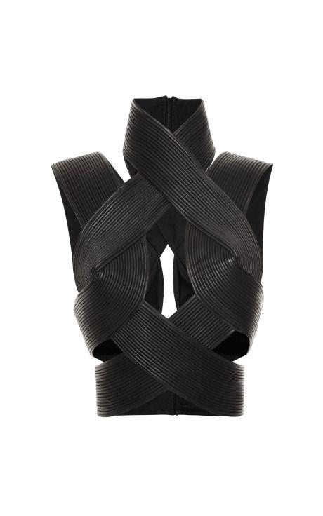 Corded Interlock Top by Dion Lee for Preorder on Moda Operandi
