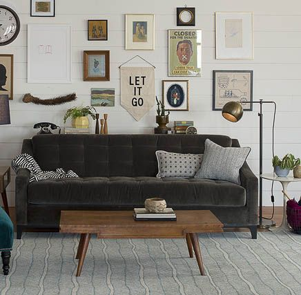 Velvet Sofa Love |Quirks and Twists|