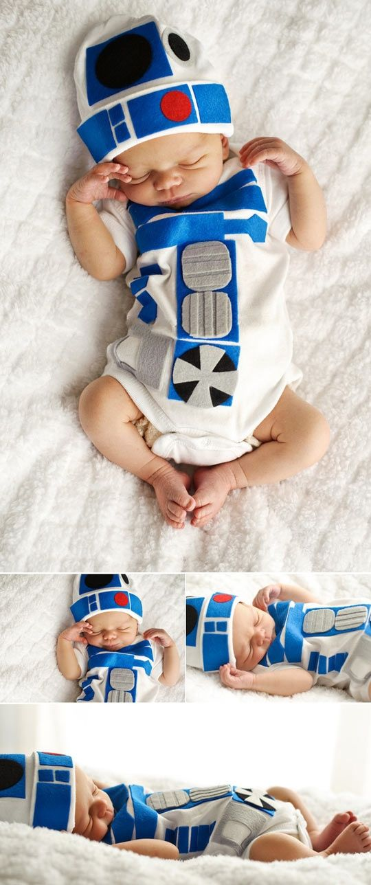 Babies don't usually do anything for me. But R2-D2 babies? Squee.