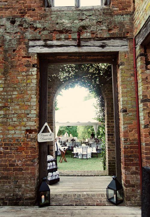 Brides: A Romantic Wedding at The Ruins at Barnsley Gardens in Adairsville, GA