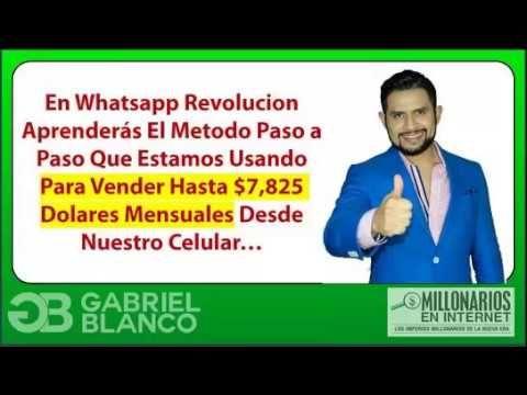 Como Vender Más Con Whatsapp. Whatsapp Selling. https://www.youtube.com/watch?v=I1h6d5X5JXs Método para saber como vender más con whatsapp. Más información en http://www.dinerofamiliar.com/vender-mas-whatsapp-whatsapp-selling/