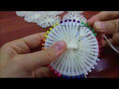 Öğretici Video-Çok Fonksiyonlu Çiçek Broş (Kolye-Toka-Broş)/Dairesel Herr…