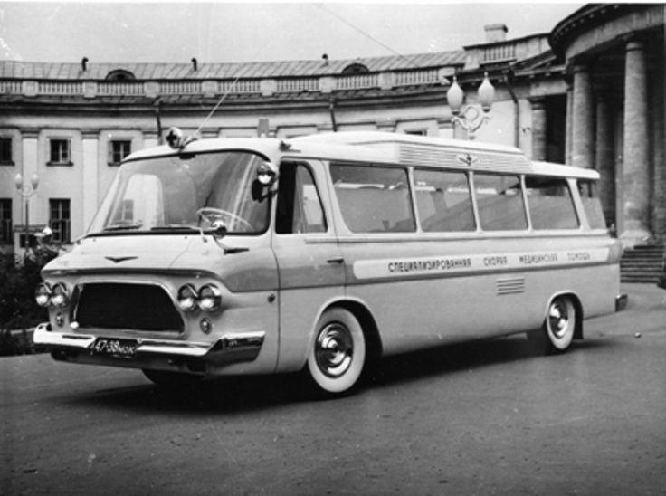 Машина специализированной скорой помощи – ЗИЛ-118А, не имевшая зарубежных аналогов.