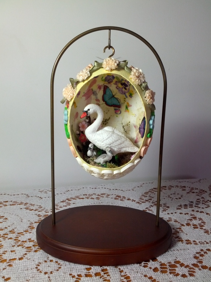 Handmade Easter Egg Diorama with Stand by MyCollections on