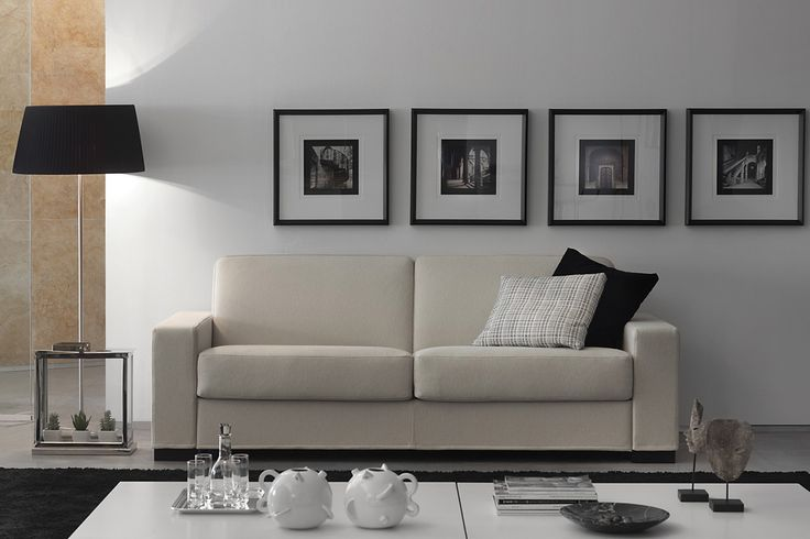 Duke Sofa - Dieses Sofa gibt es auch als Bettsofaversion, die mit einer einfachen Drehung der Rückenlehne erreicht wird, ohne auch nur ein Kissen entfernen zu müssen. Duke ist mit einer Federkernmatratze mit 200 cm. länge ausgestattet. Der Bezug ist abnehmbar und je nach Stoffwahl auch waschbar. <br> <br> erhältliche Breiten: 125, 165, 190, 210 und 230 cm <br> ohne Bettfunktion auch als Sessel <br> 4 verschiedene Armlehntypen zur Auswahl