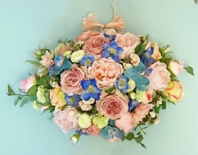 Peach X Sky Blue 結婚車花佈置 - wow筍料情報站 - 生活圈子 - 話題 - ElaineWai - ESDlife WOW