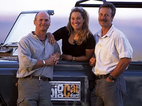"""These are the hosts of """"Big Cat Diary"""". this is one of my fav shows. i watch it every single morning!!! It is truly amazing!!! I <3 big cat diary!!!"""