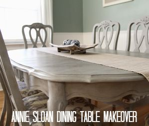 Drab to Fab Design Annie Sloan Chalk Paint Paris Grey with clear and dark wax