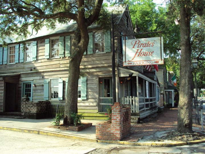 The oldest bar in every state (and DC!) - The Pirates' House in Savannah, GA (Est 1753) is the oldest bar in the state of Georgia. Originally built as an inn for sailors in Georgia's main port city, it didn't take long for the Pirate House to morph it into a drinking establishment.