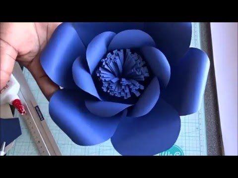 É de Casa - Veja como fazer flores de papel para decoração - 01/10/2016 - YouTube