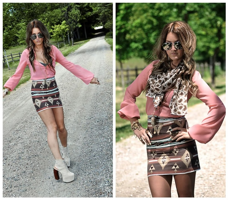 ElizBourk Creation. Cute Skirt.