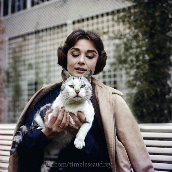 Audrey Hepburn in France photographed in 1957 by Sam Shaw