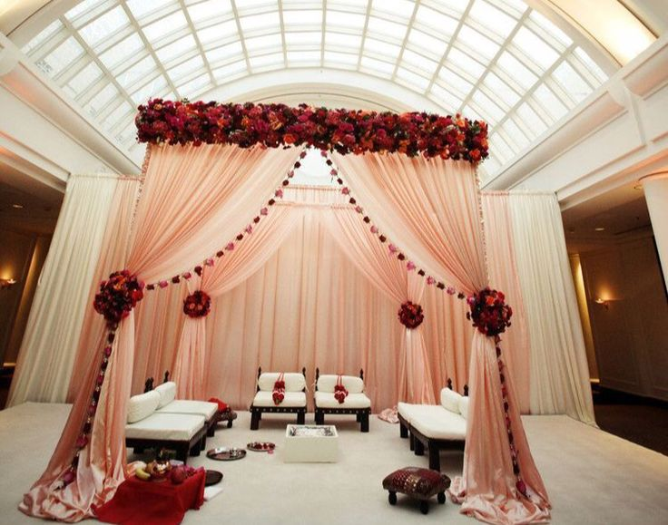 Mandap Inspiration for Indian Weddings