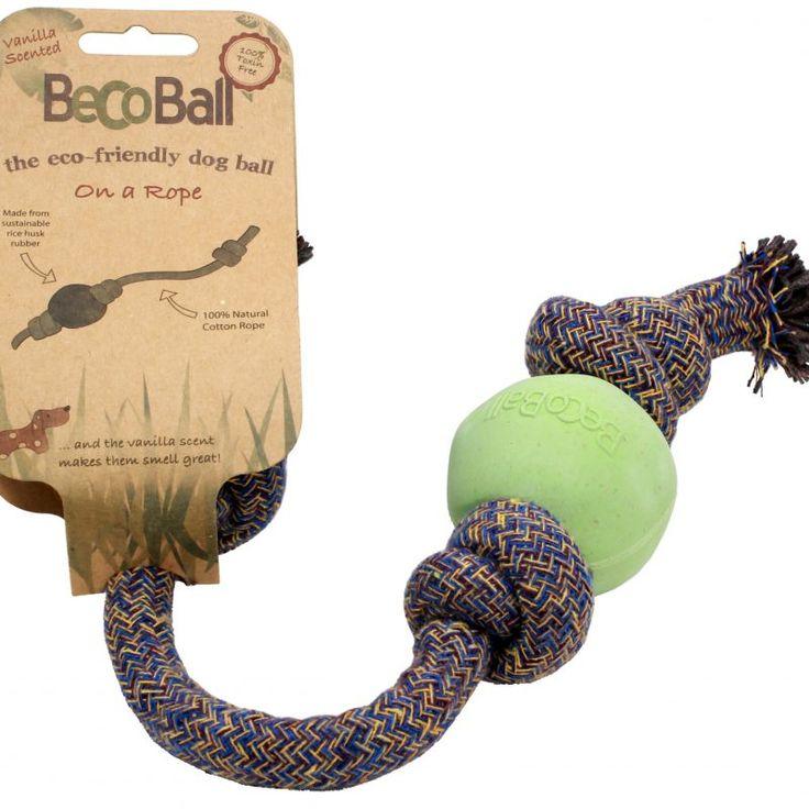 Hundeprodukter i alle kategorier og varianter - Svært høy kvalitet    Miljøvennlig hundeleke fra Beco Pets