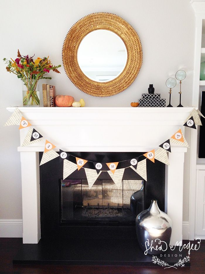 Fall Mantle Styling || Shea McGee Design