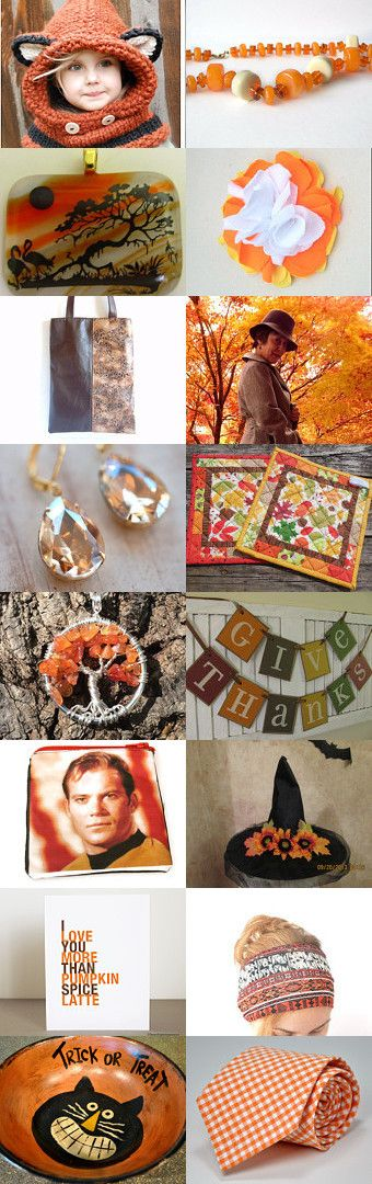 Orange You Glad…. by Sarah Bennett on Etsy--Pinned with TreasuryPin.com
