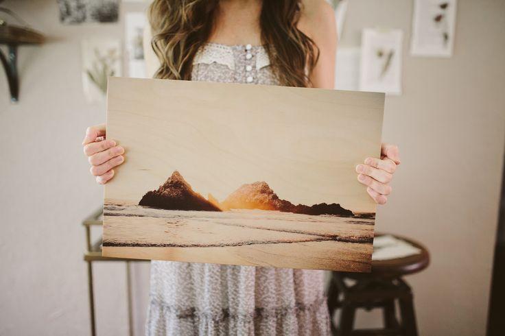 Wooden Photo Prints