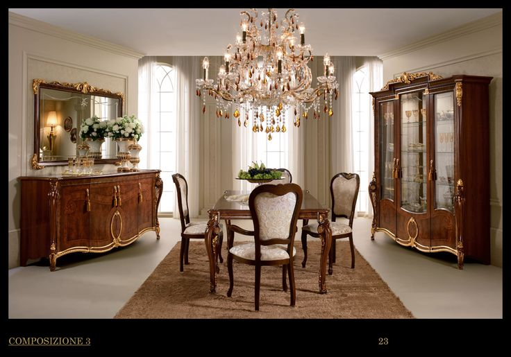 18 best images about italian furniture on pinterest for Beautiful italian dining rooms