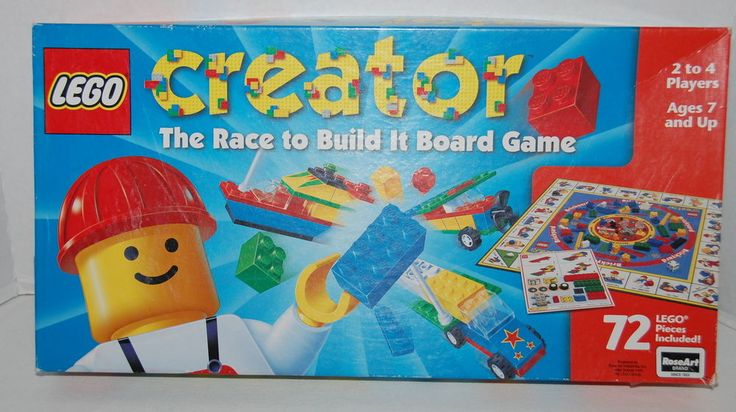 LEGO CREATOR Game RoseArt 1999 Great Condition See Description #LEGO
