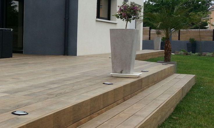 17 beste idee n over houten terras op pinterest pergola schaduw patio en goedkope - Terras houten pergola ...
