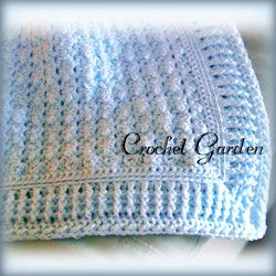 CROCHET - Afghan of the Sandman Beautiful baby blanket in any color. Would make a great baby shower gift.