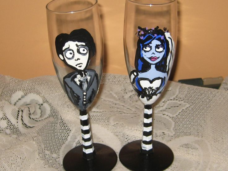 The Corpse Bride/ Corpse Bride and by AntonisArtAsylum on Etsy, $39.00