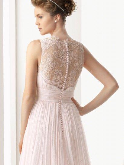Vestito da sposa rosa di Rosa Clarà! Bellissimo