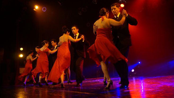 """Show en Teatro Diego Rivera. Enero 10, 2014. """"Tango Obsesión"""", con nuestros alumnos."""