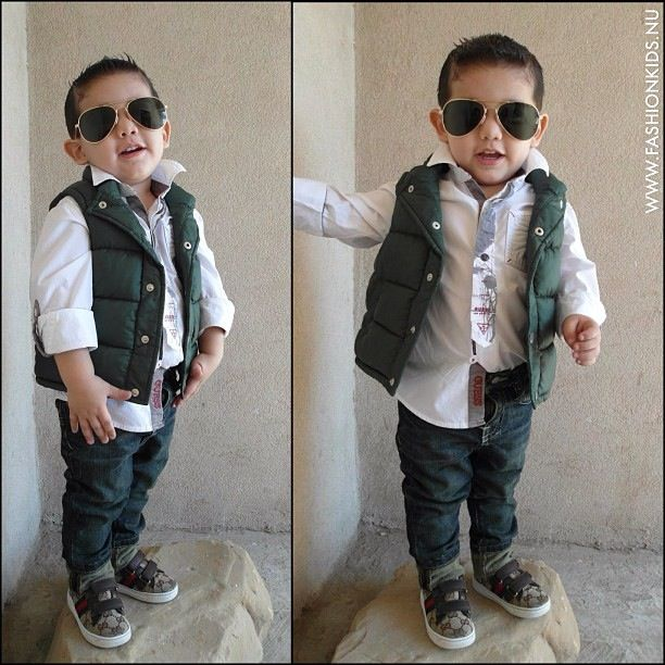 Little Boy Fashionista.