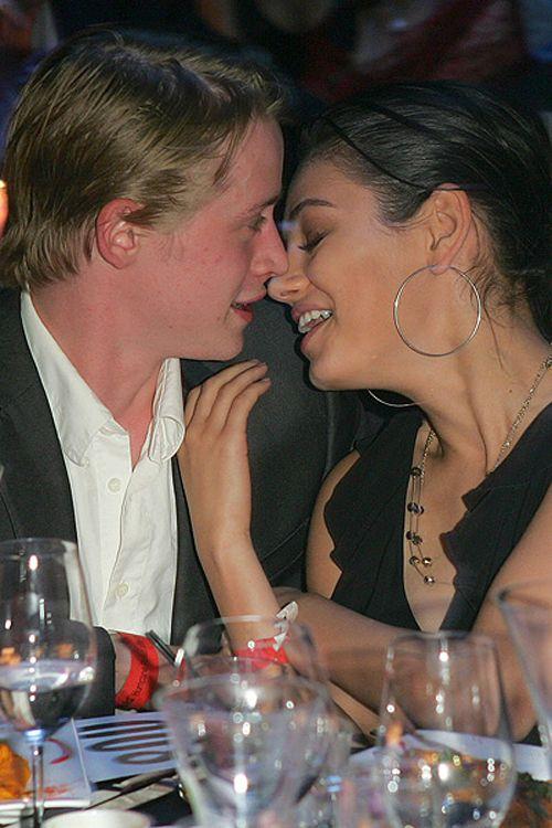 Mila Kunis & Macaulay Culkin Kissing Compilation @ www ...