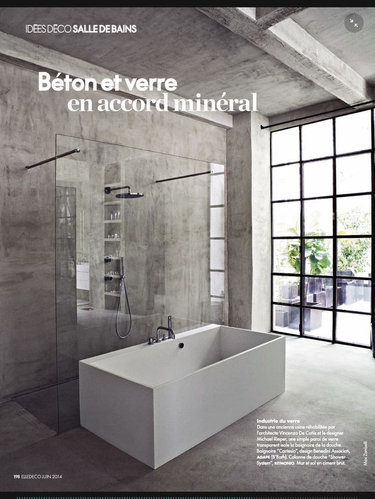 More bathrooms with glass enclosures