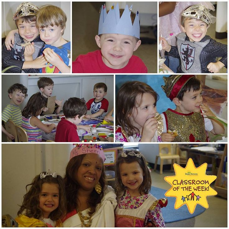Preschool Activity: Teachers turned their dramatic play area into a castle and explored the unique lifestyle of medieval castle dwellers! They made dragon puppets and decorated for a King's Feast. After each child was proclaimed their title of either a knight, King or Queen they dressed up and ate cheese, bread, grapes & tea. After they had a treasure hunt & listened to classical music. Center: The Harbor at Station Place, Washington DC  See more: http://on.fb.me/18YlQH1