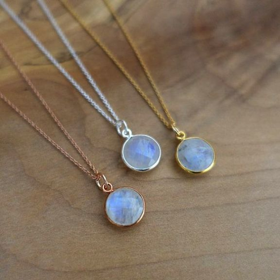 Rainbow Moonstone Pendant with lapis Stone bells Gorgeous Handmade Rainbow Moonstone Pendant Boho Pendant Gift for Her
