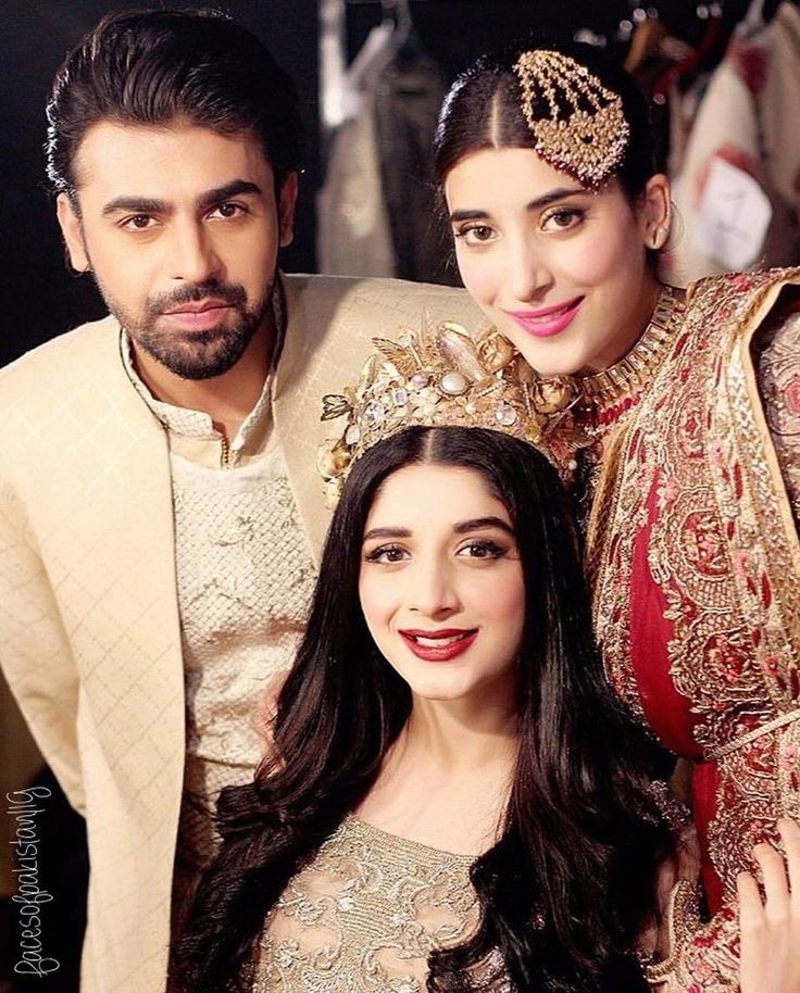 Farhan Saeed, Mawra Hocane and Urwa Hocane