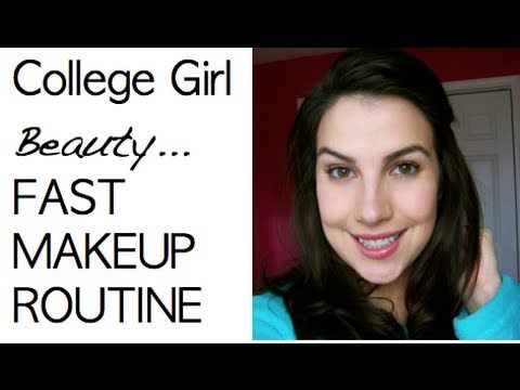 College Girl Beauty: Fast Makeup Routine
