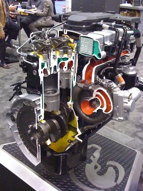 6.7 liter Cummins Turbo Diesel