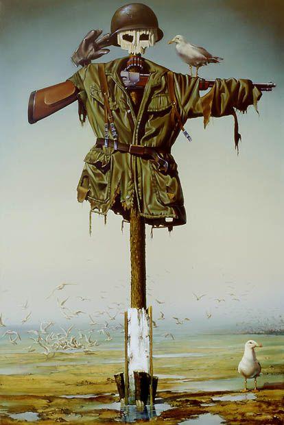 Abschreckungstheorie (deterrence theory) by Siegfried Zademack