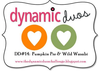 Dynamic Duos: Dynamic Duos #14-Pumpkin Pie and Wild Wasabi (Orange and Green): Colour Combinations, Colors Challenges, Colors Combos, Cards Colors, Colour Challenges, Dynamic Duo, Duo Colour, Colors Inspiration, Cards Sketch